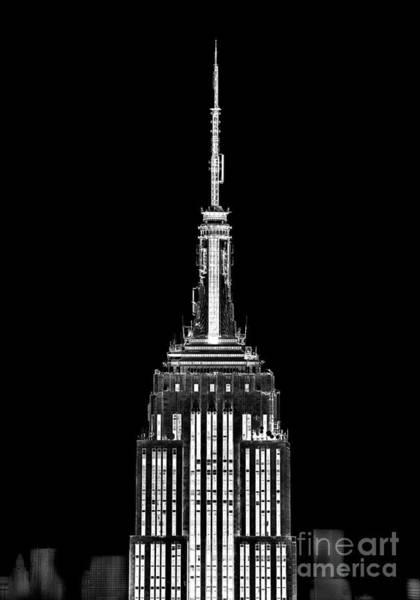 Spires Photograph - Skyscraper by Az Jackson