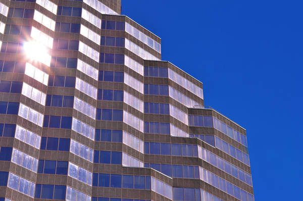 Wall Art - Photograph - Skyscraper Photography - Downtown - By Sharon Cummings by Sharon Cummings