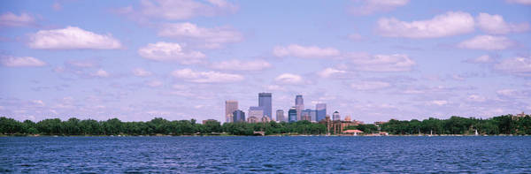 Chain Of Lakes Photograph - Skyscrapers In A City, Chain Of Lakes by Panoramic Images