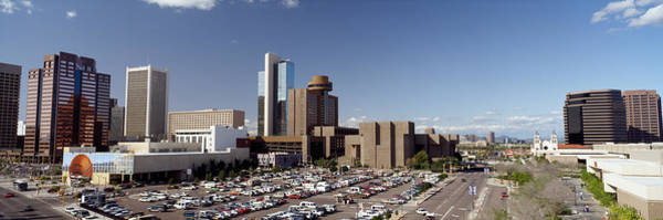 Maricopa Photograph - Skyscrapers In A City, Phoenix by Panoramic Images