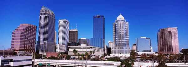 Wall Art - Photograph - Skyscrapers In A City, Tampa, Florida by Panoramic Images