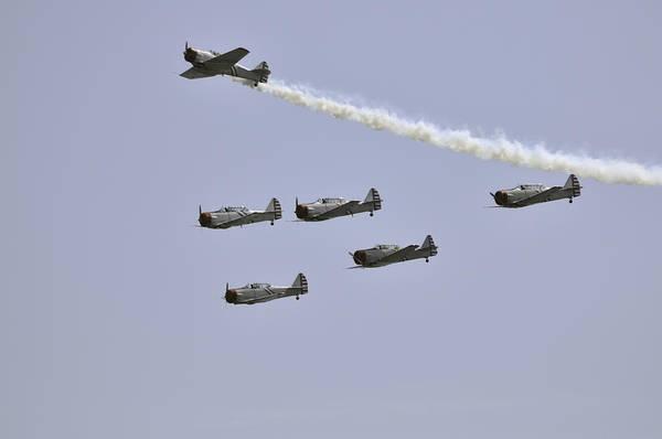 Photograph - Skytypers by Bradford Martin