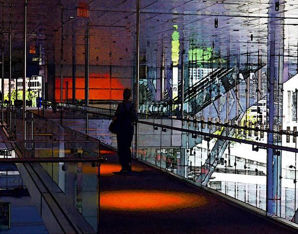Digital Art - Skywalk by William Sargent