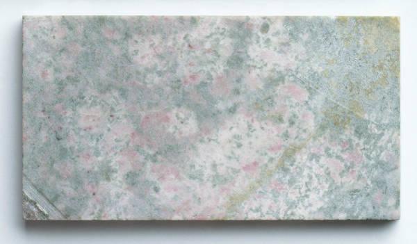 Geological Photograph - Slab Of Thulite by Dorling Kindersley/uig