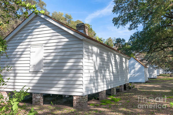 Photograph - Charleston Slave Quarters by Dale Powell