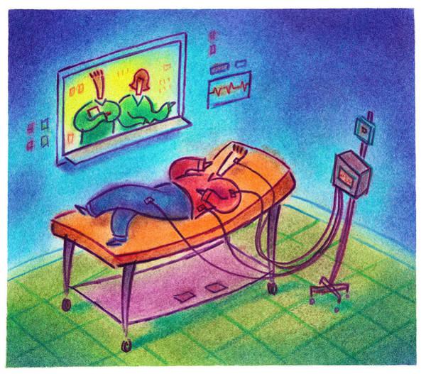 Sleep Study Art Print by Craig Smallish
