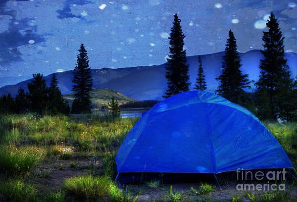 Campsite Wall Art - Photograph - Sleeping Under The Stars by Juli Scalzi