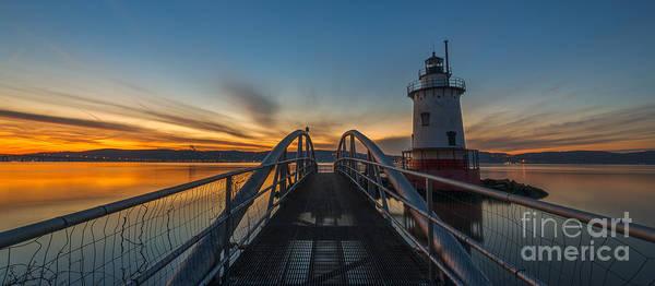 Mv Photograph - Sleepy Hollow Light Panoramic View by Michael Ver Sprill