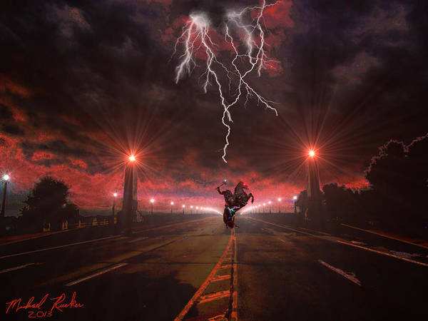 Digital Art - Sleepy Hollow  by Michael Rucker