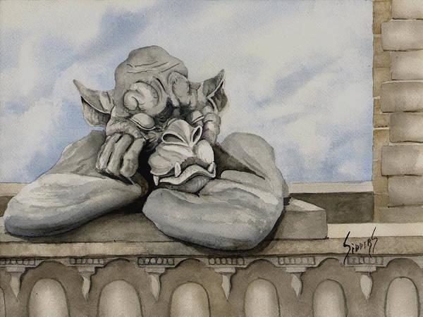 Painting - Sleepy by Sam Sidders
