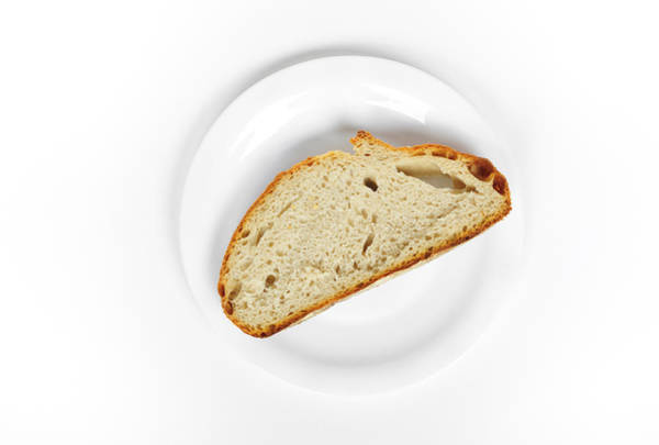 Photograph - Slice Of Bread by Matthias Hauser