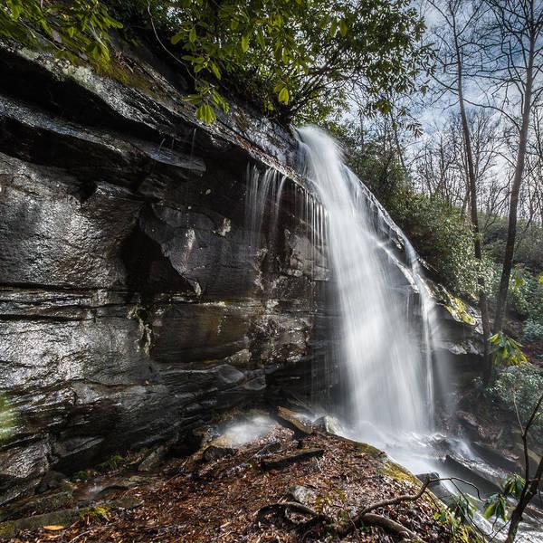 Photograph - Slick Rock Falls by Randy Scherkenbach