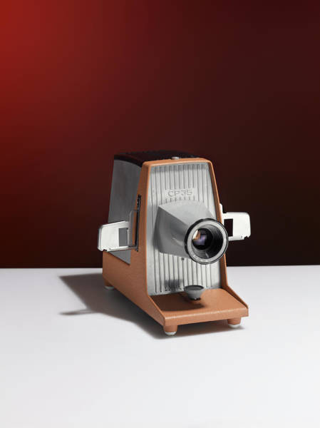 Slide Photograph - Slide Projector by Adrian Burke