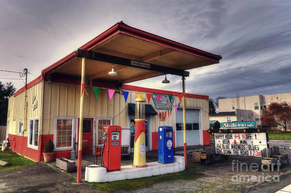 Photograph - Slider's Cafe by Eddie Yerkish