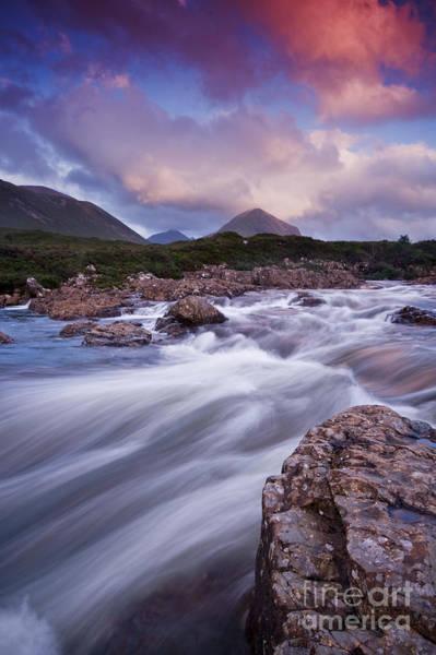 Photograph - Sligachan River by David Lichtneker