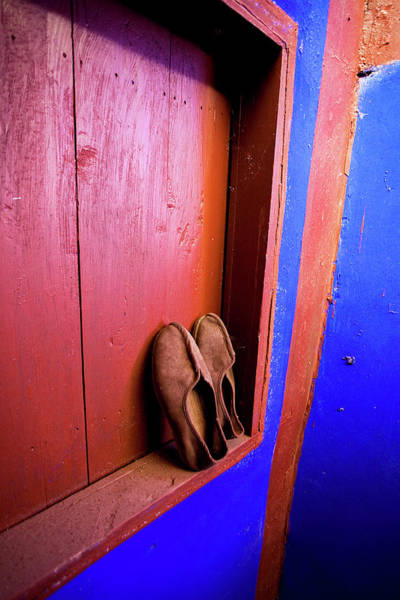 Beijing Photograph - Slippers Of A Buddhist Monk At The Lama by Miva Stock