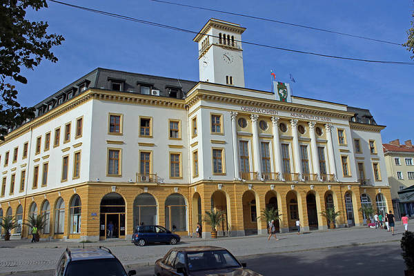 Photograph - Sliven Town Hall by Tony Murtagh