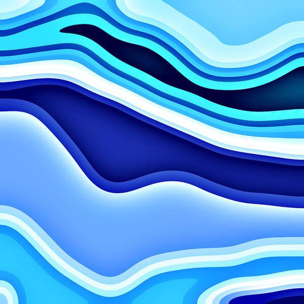 Wall Art - Digital Art - Slopes by David G Paul