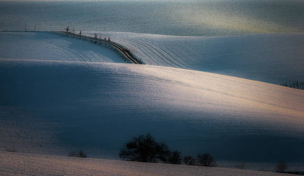 Wall Art - Photograph - Sloping Road by Marek Boguszak