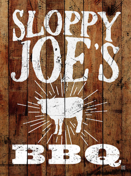 Bbq Painting - Sloppy Joe's Bbq by Aubree Perrenoud