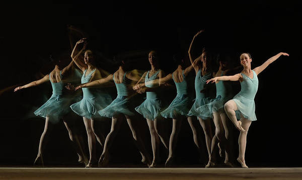 Dancing Photograph - Slow Motion by