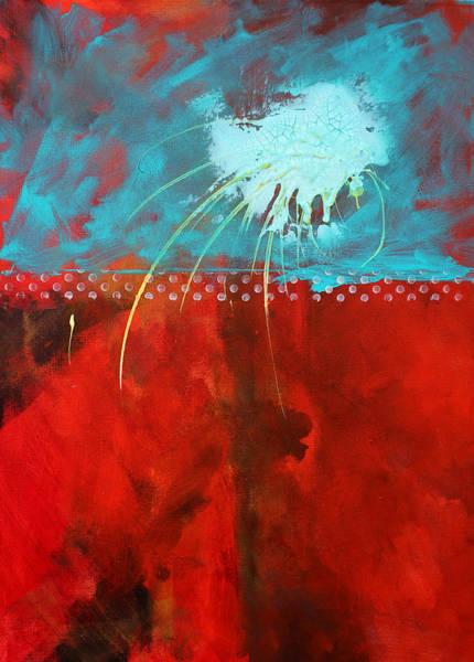 Cosmic Painting - Slow Travel by Nancy Merkle