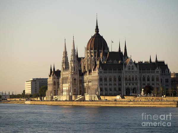 Photograph - Slowly The Sunlit Danube Slips By by Brenda Kean