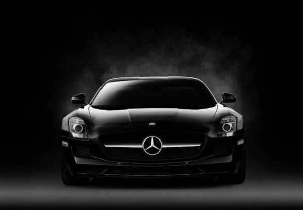 Germany Wall Art - Digital Art - Sls Black by Douglas Pittman
