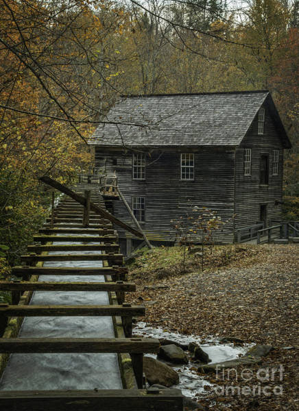 Photograph - Sluice And Mill House by David Waldrop
