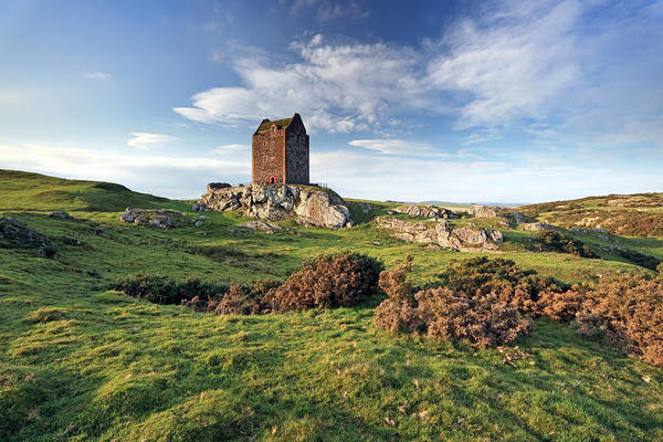 Photograph - Smailholm Tower by Grant Glendinning