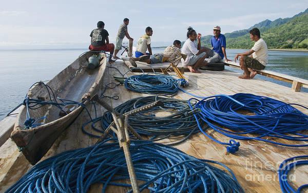 Photograph - Small Boat In Timor-leste by Dan Suzio