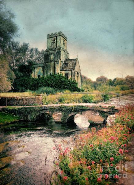 Chapel Bridge Photograph - Small Bridge By The Church by Jill Battaglia