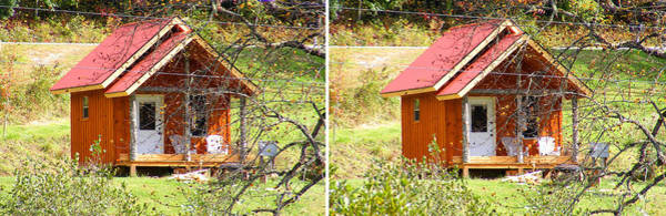 Photograph - Small Cabin In Stereo by Duane McCullough