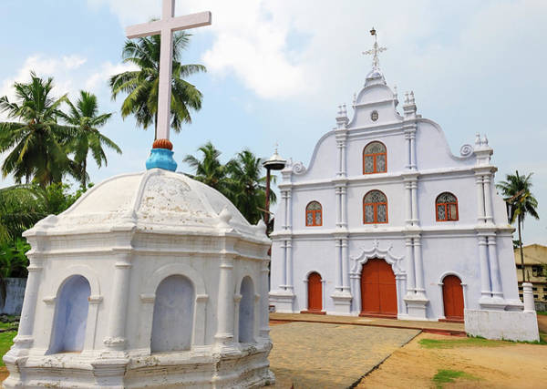Roxbury Wall Art - Photograph - Small Church, Kochi (cochin by Steve Roxbury