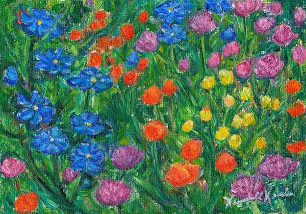 Painting - Small Flowers by Kendall Kessler