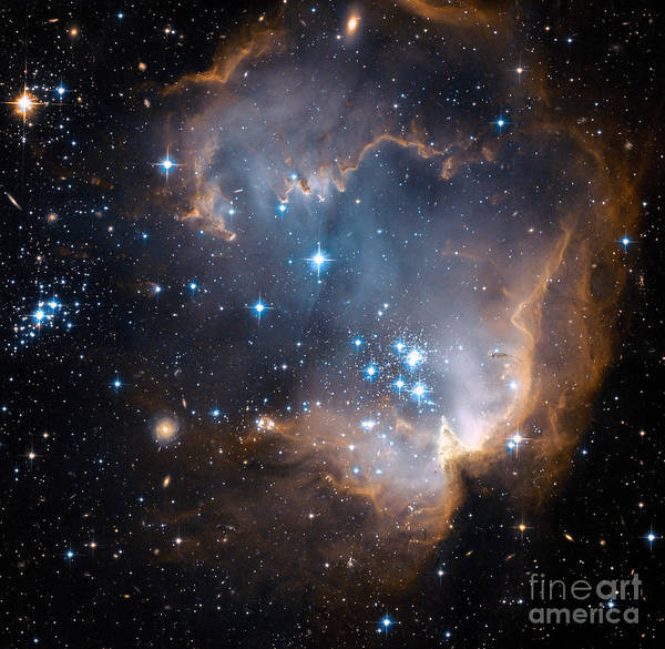 Photograph - Small Magellanic Cloud, Region N90 by Science Source