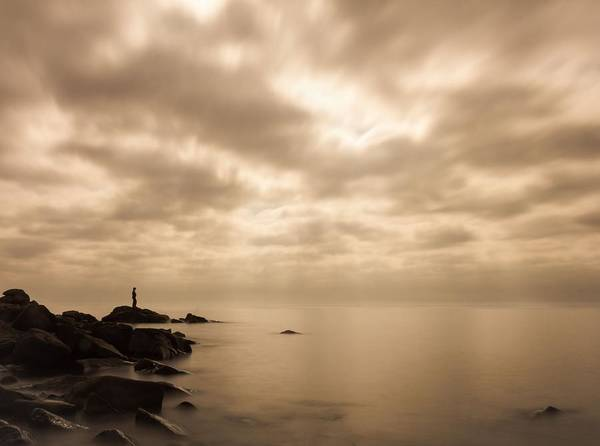 Great Lakes Photograph - Small... by Mary Amerman