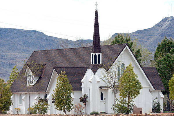 Photograph - Small Mountain Church by Gunter Nezhoda