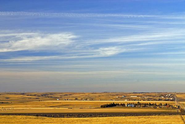 Wall Art - Photograph - Small Nebraska Farm Town by James Steinberg
