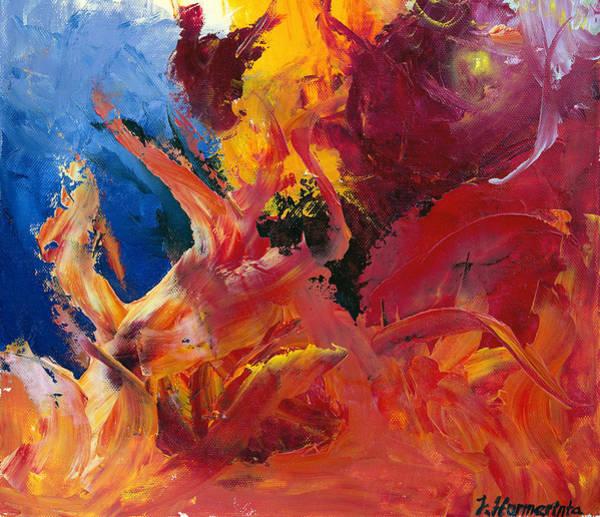Wall Art - Painting - Small Passion 1 by Johanna Hurmerinta
