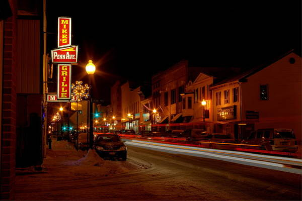 Photograph - Small Town Winter by David Dufresne