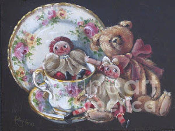 Painting - Small Treasures  by Kathy  Karas