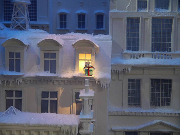 Photograph - Small World - Tiffany Christmas 4 by Richard Reeve