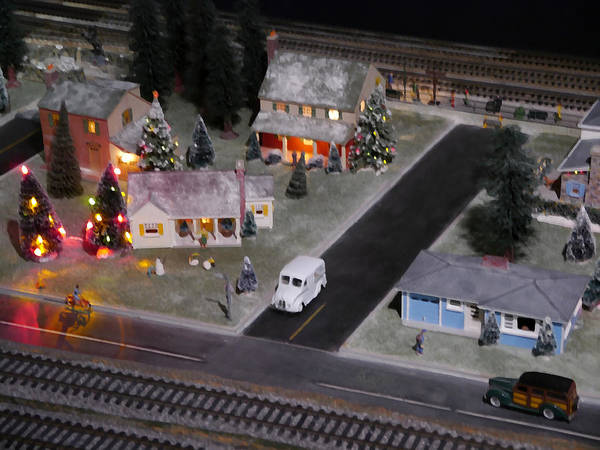 Dioramas Digital Art - Small World - A Smalltown Holiday by Richard Reeve