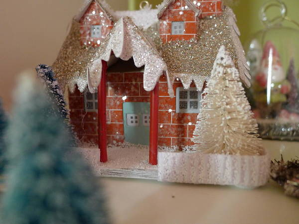 Photograph - Small World - Little Winter Home by Richard Reeve