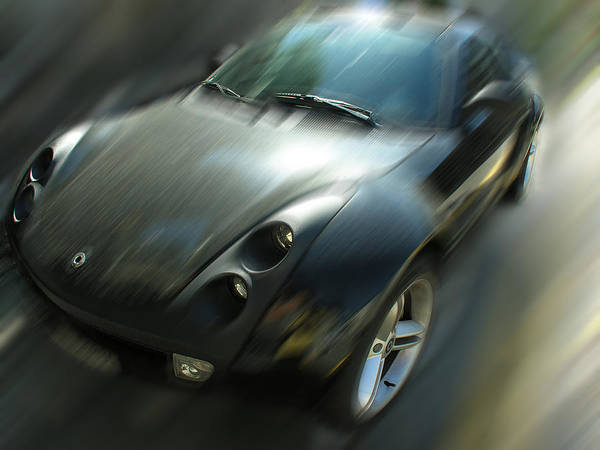 Photograph - Smart Roadster 2005 by Dragan Kudjerski