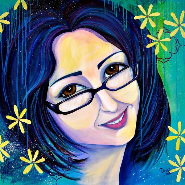 Wall Art - Painting - Smarty Pants by Debi Starr