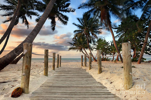 West Photograph - Smathers Beach 2 by Rod McLean