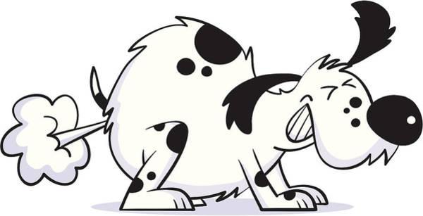 Smelly Dog Art Print by Smokeyjo