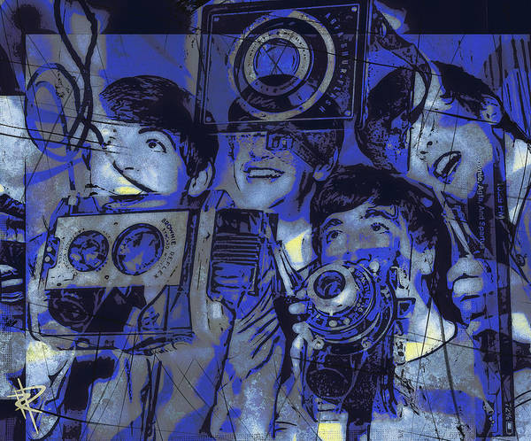 Wall Art - Mixed Media - Smile For The Camera by Russell Pierce